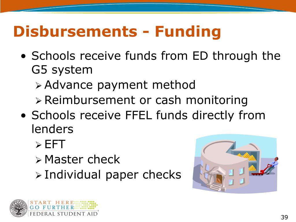 Disbursements - Funding