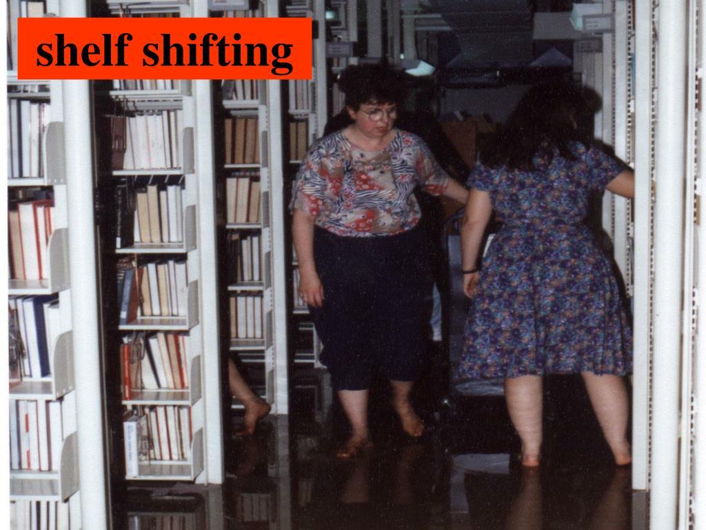 shelf shifting