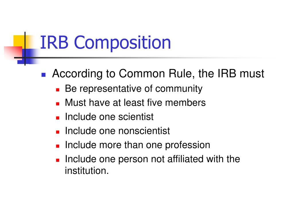 IRB Composition