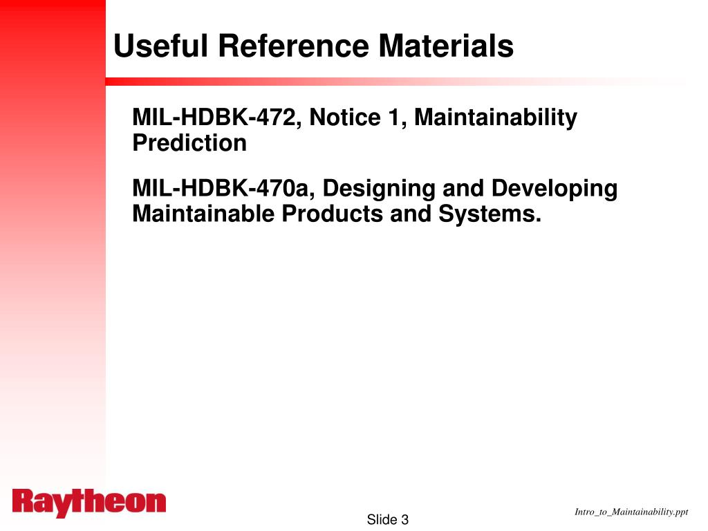 Useful Reference Materials