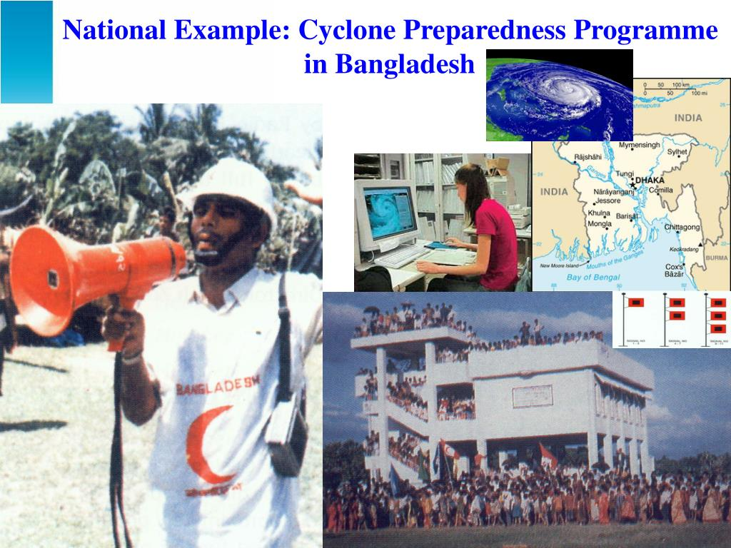 National Example: Cyclone Preparedness Programme