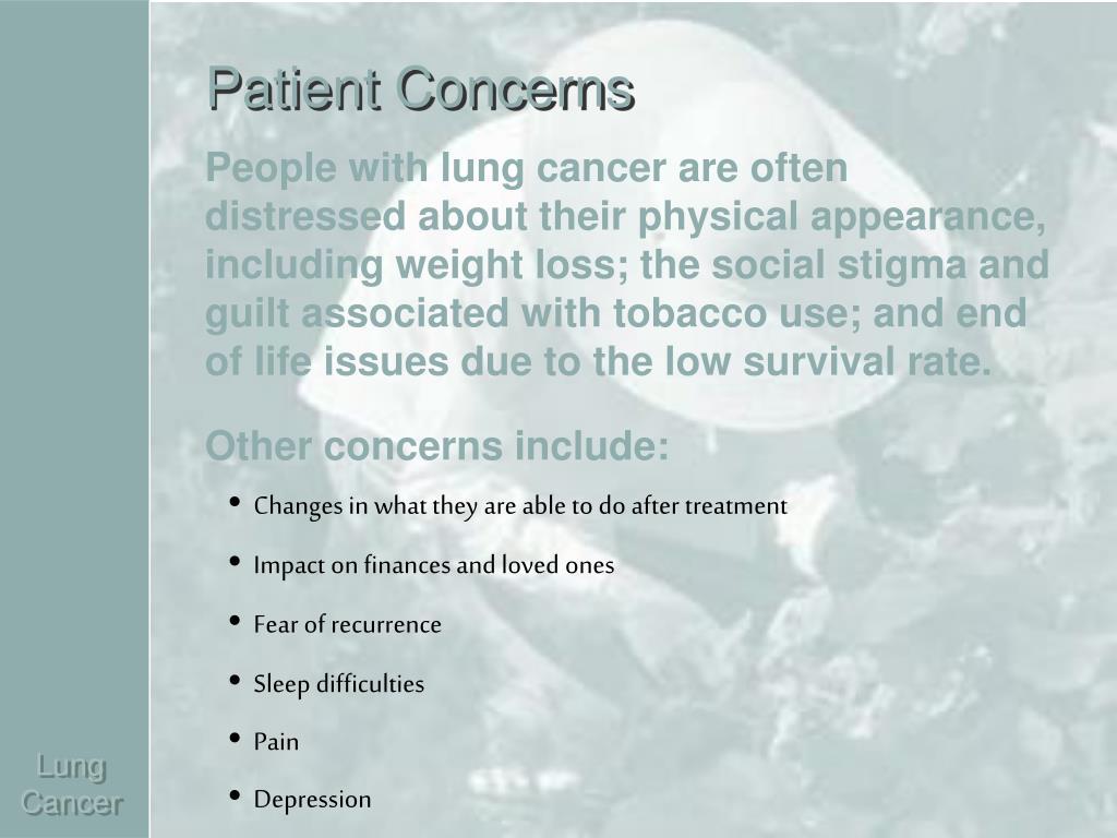 Patient Concerns