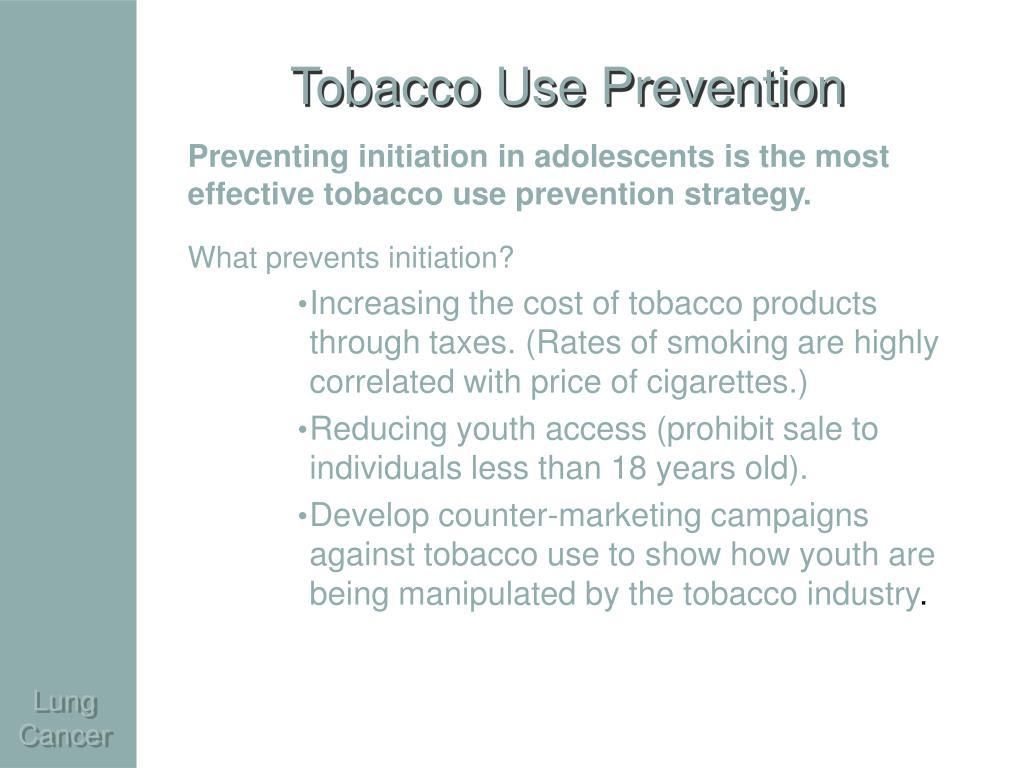 Tobacco Use Prevention