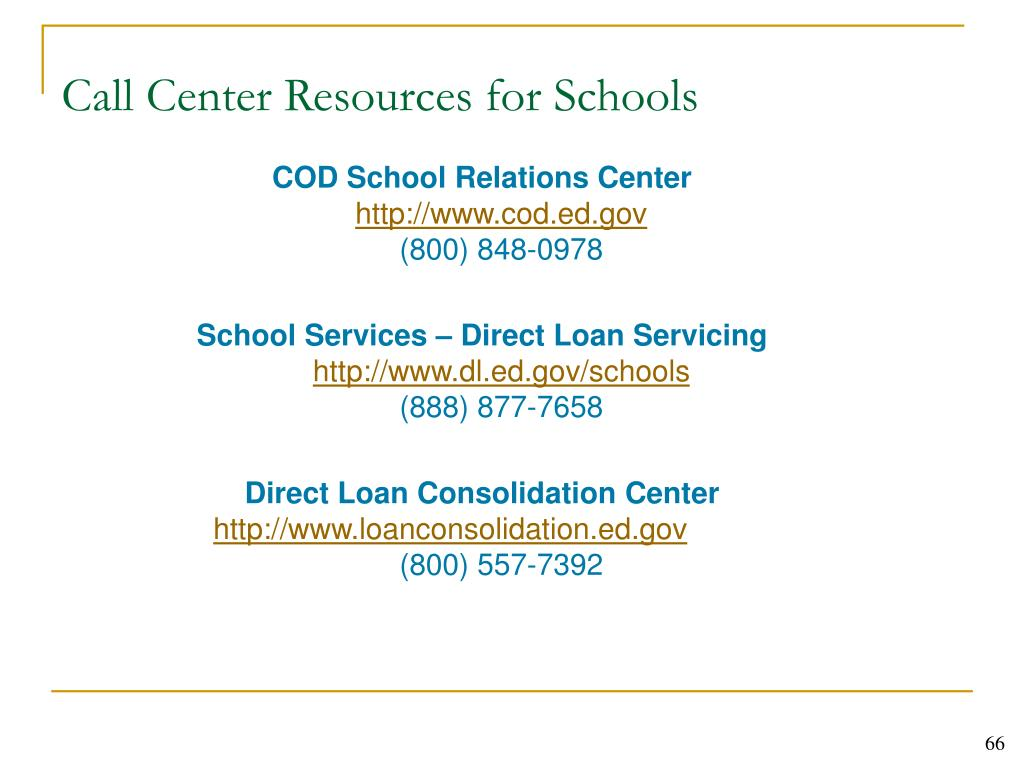 Call Center Resources for Schools