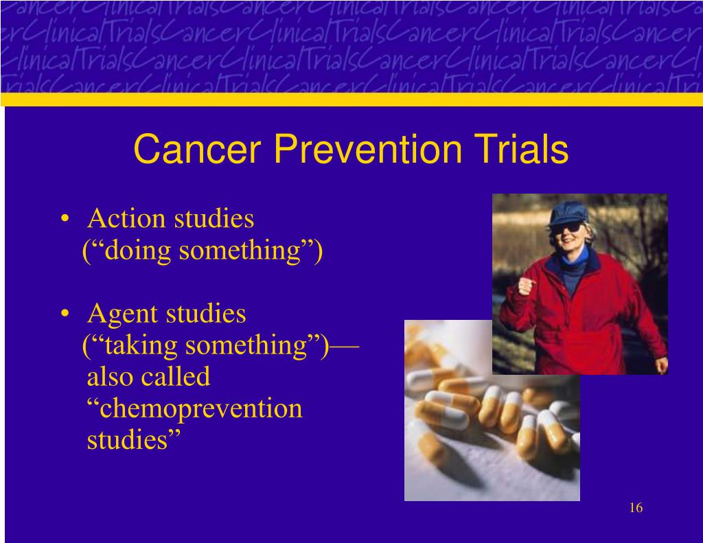 Cancer Prevention Trials