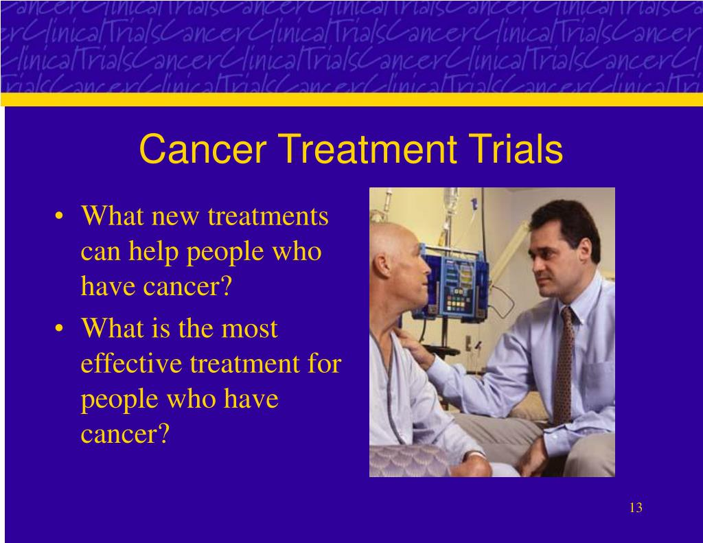 Cancer Treatment Trials