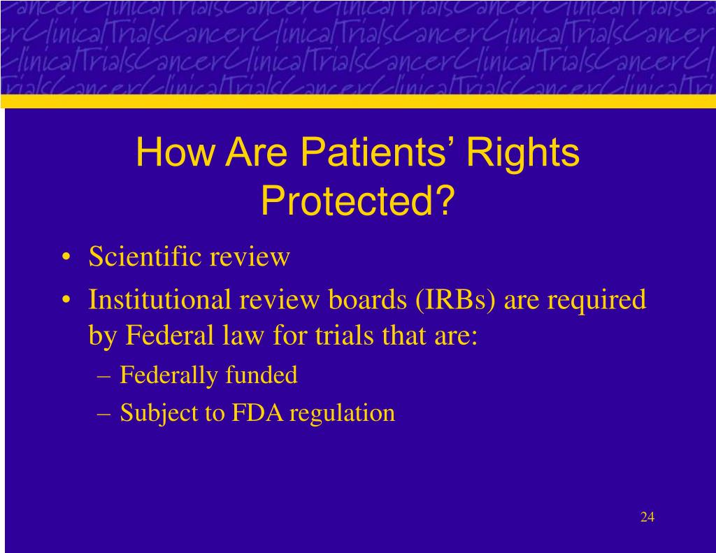 How Are Patients' Rights Protected?