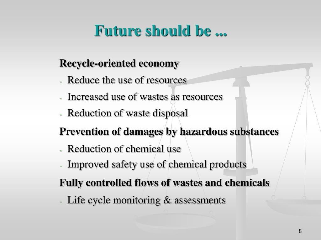 Future should be ...