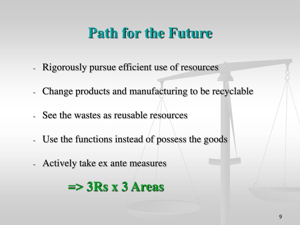 Path for the Future