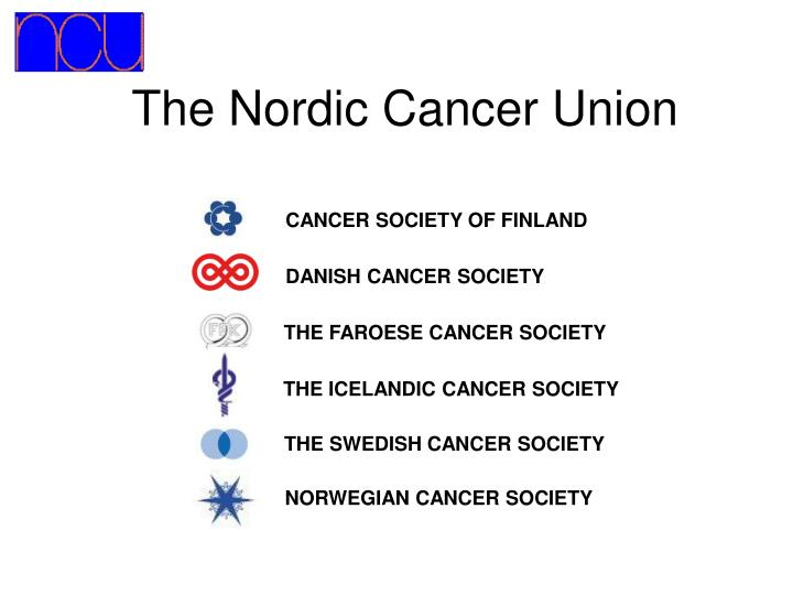 The nordic cancer union
