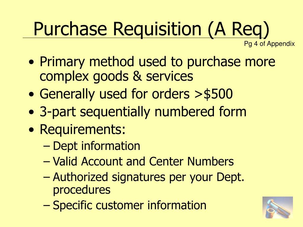 Primary method used to purchase more complex goods & services