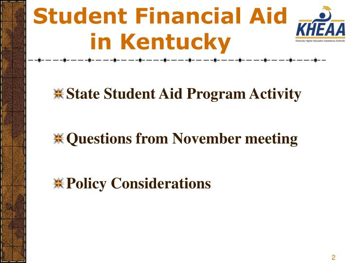 Student financial aid in kentucky2