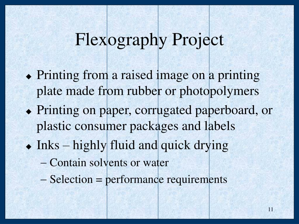 Flexography Project