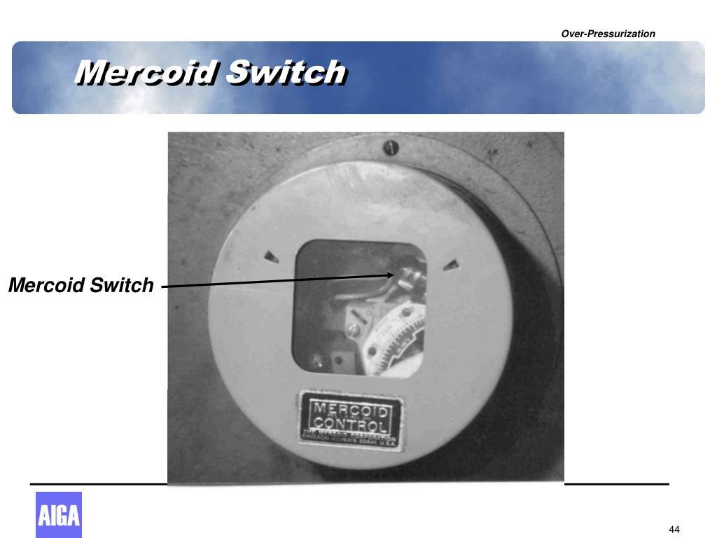 Mercoid Switch