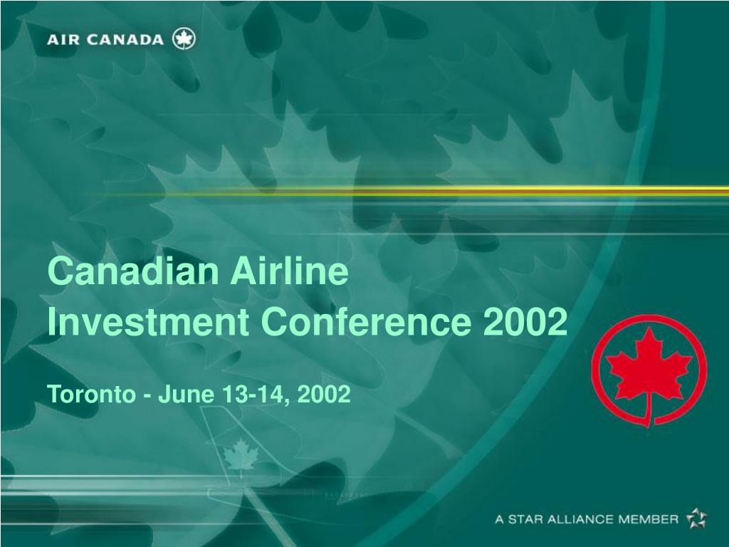 Canadian Airline