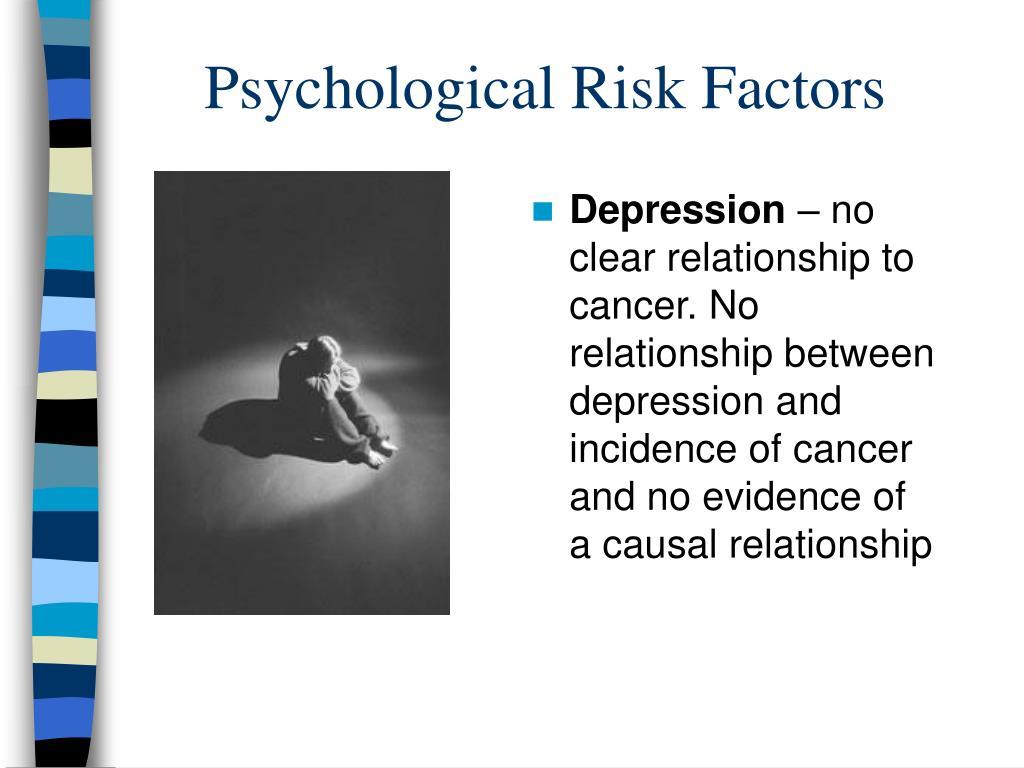 Psychological Risk Factors