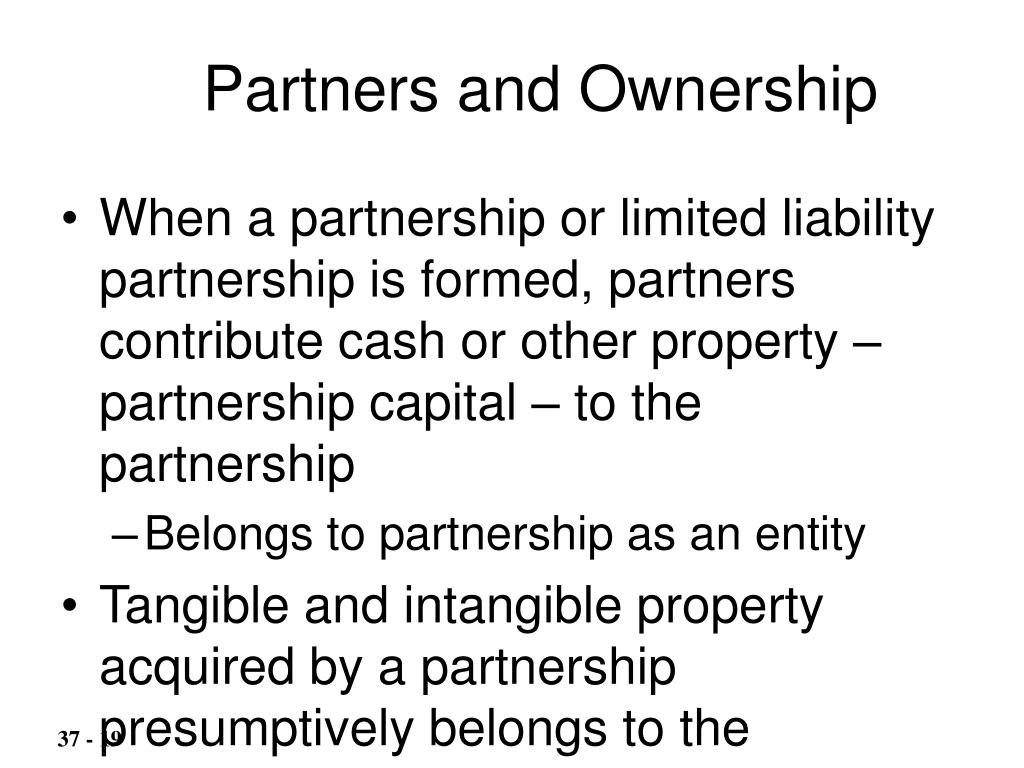 Partners and Ownership
