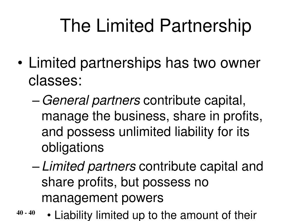 The Limited Partnership
