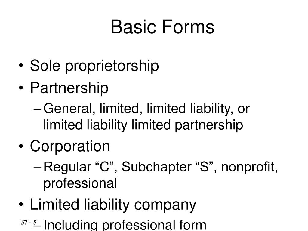 Basic Forms