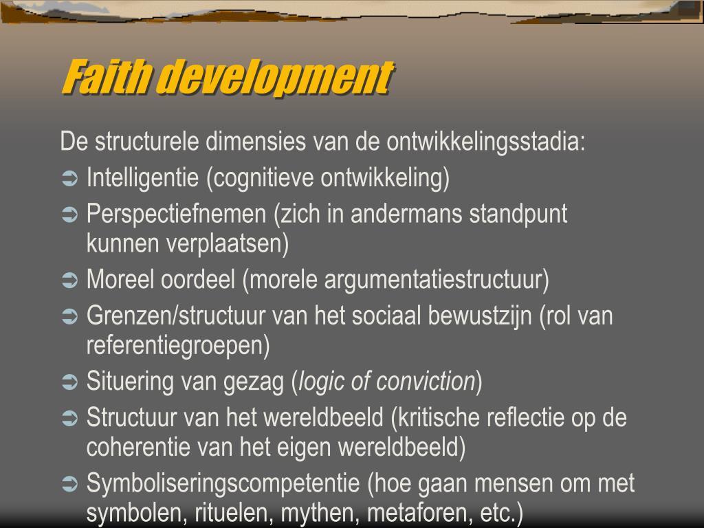 Faith development