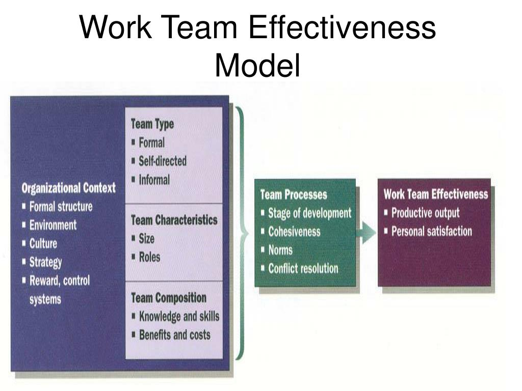 Work Team Effectiveness Model