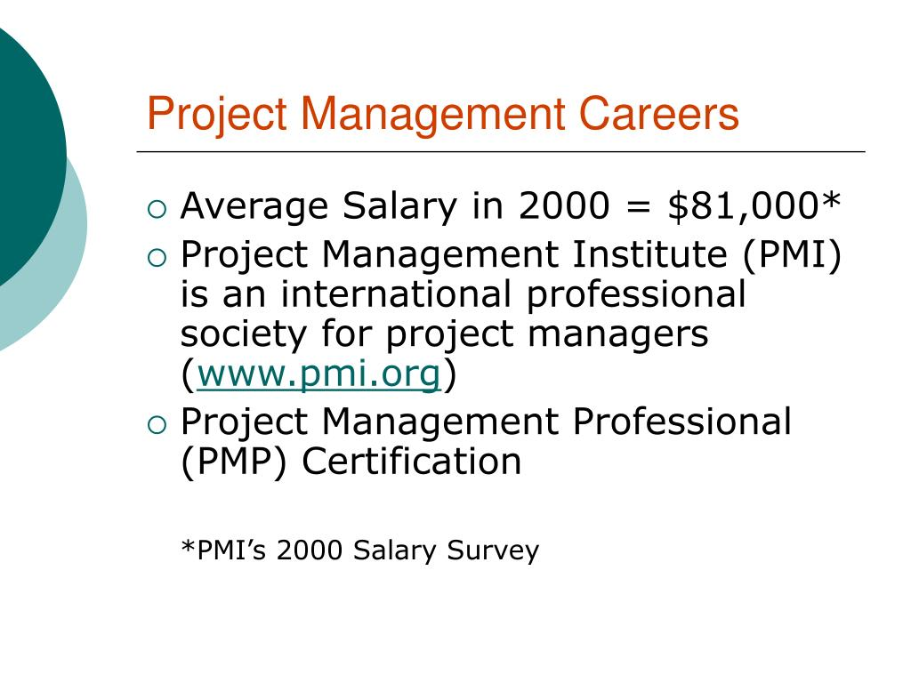 Project Management Careers