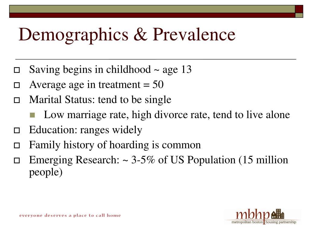 Demographics & Prevalence
