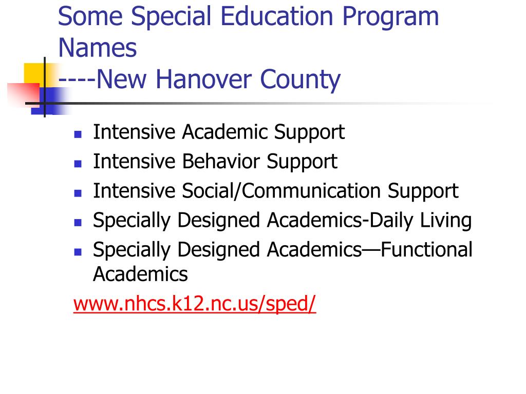 Special Education course study