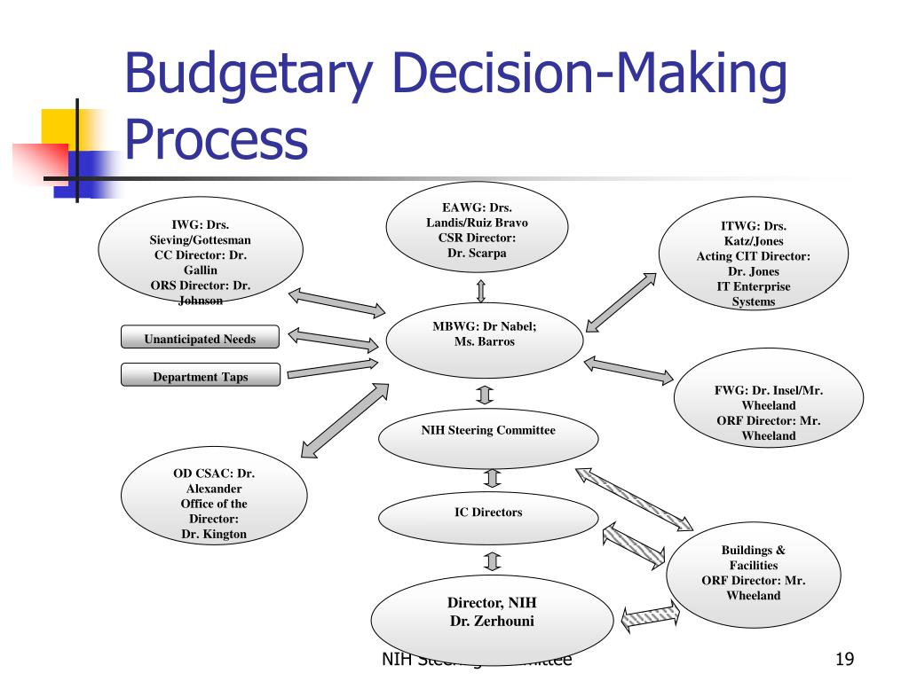 Budgetary Decision-Making Process
