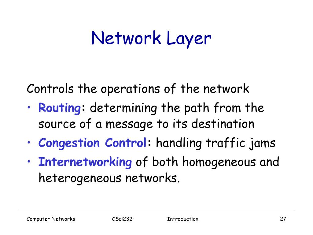 Network Layer