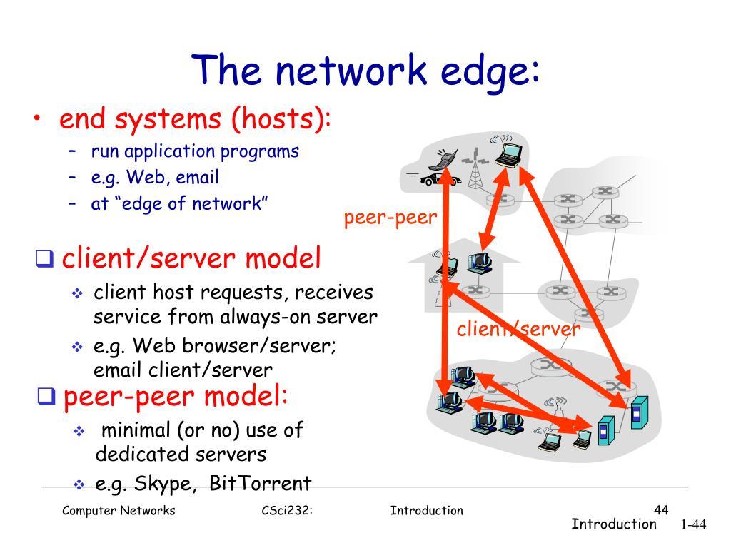 The network edge: