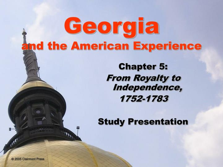 Georgia and the american experience l.jpg
