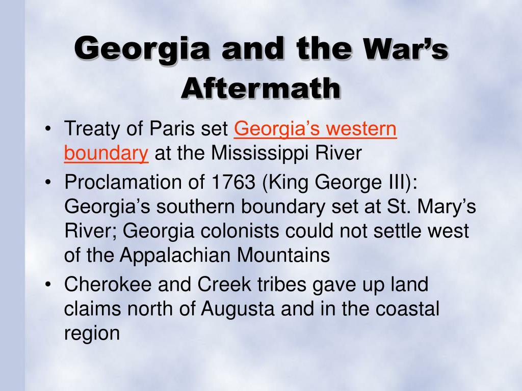 Georgia and the