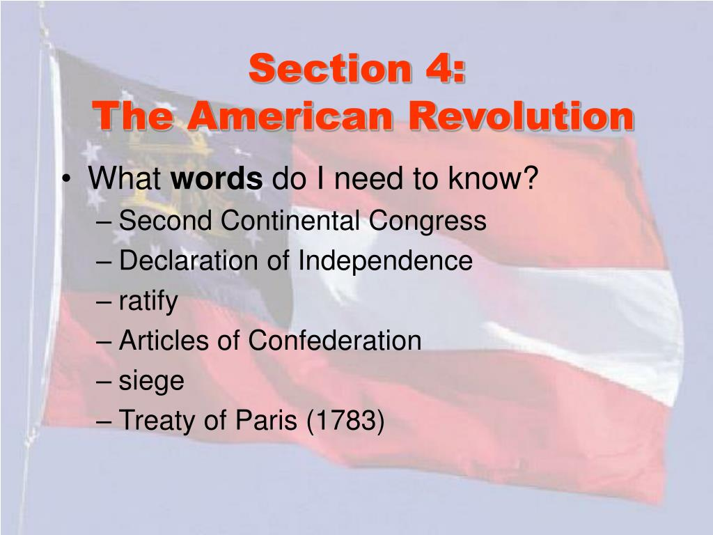 Section 4: