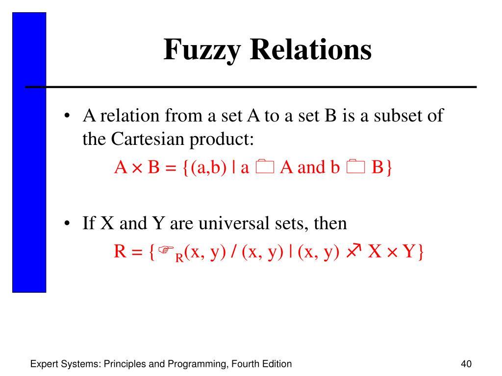 Fuzzy Relations