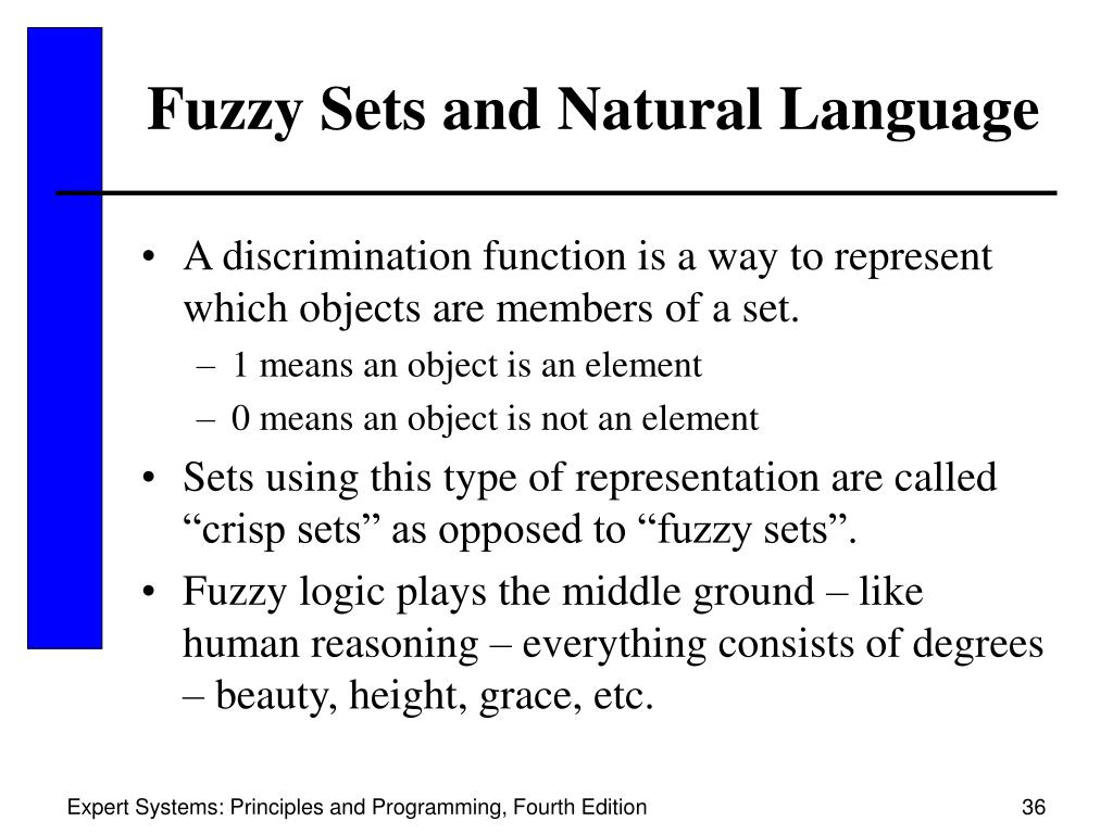 Fuzzy Sets and Natural Language