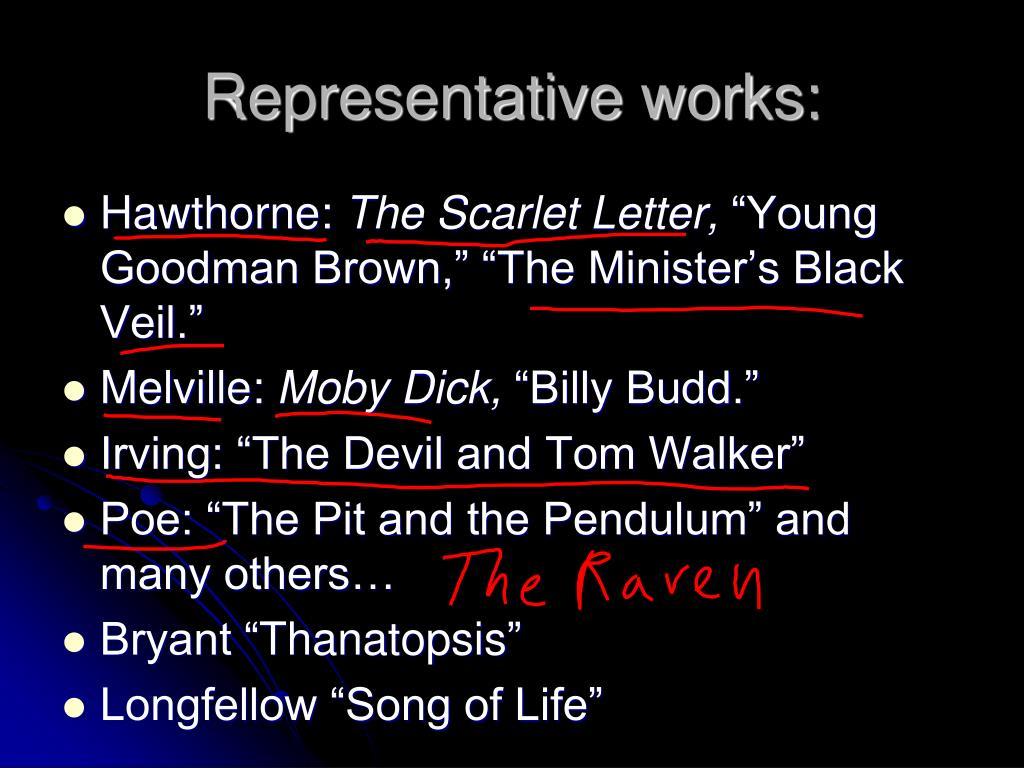 Representative works: