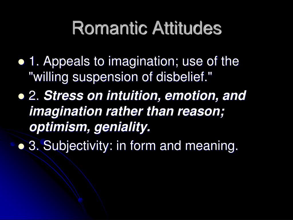 Romantic Attitudes