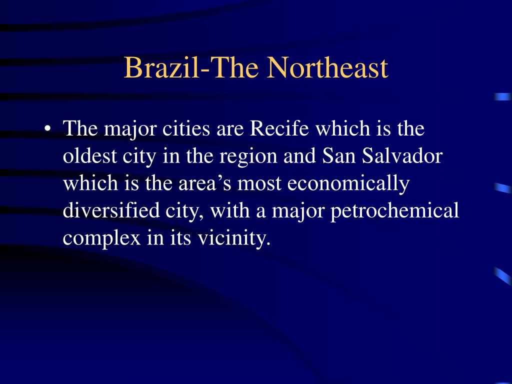 Brazil-The Northeast