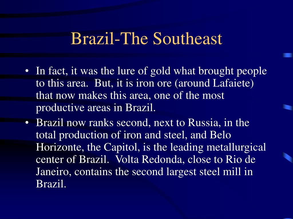 Brazil-The Southeast