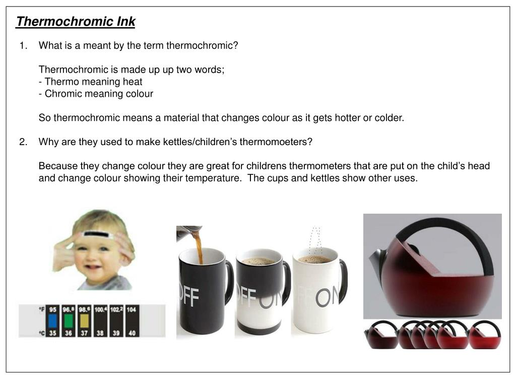 Thermochromic Ink
