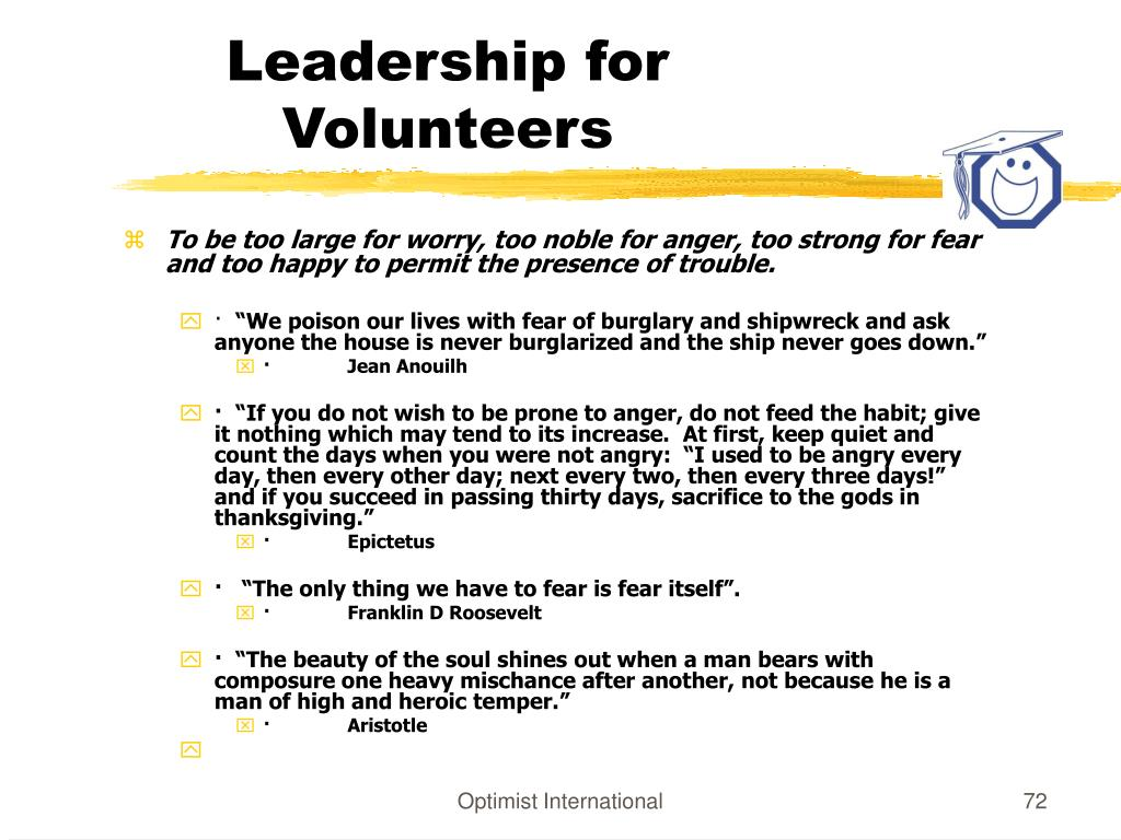 Leadership for