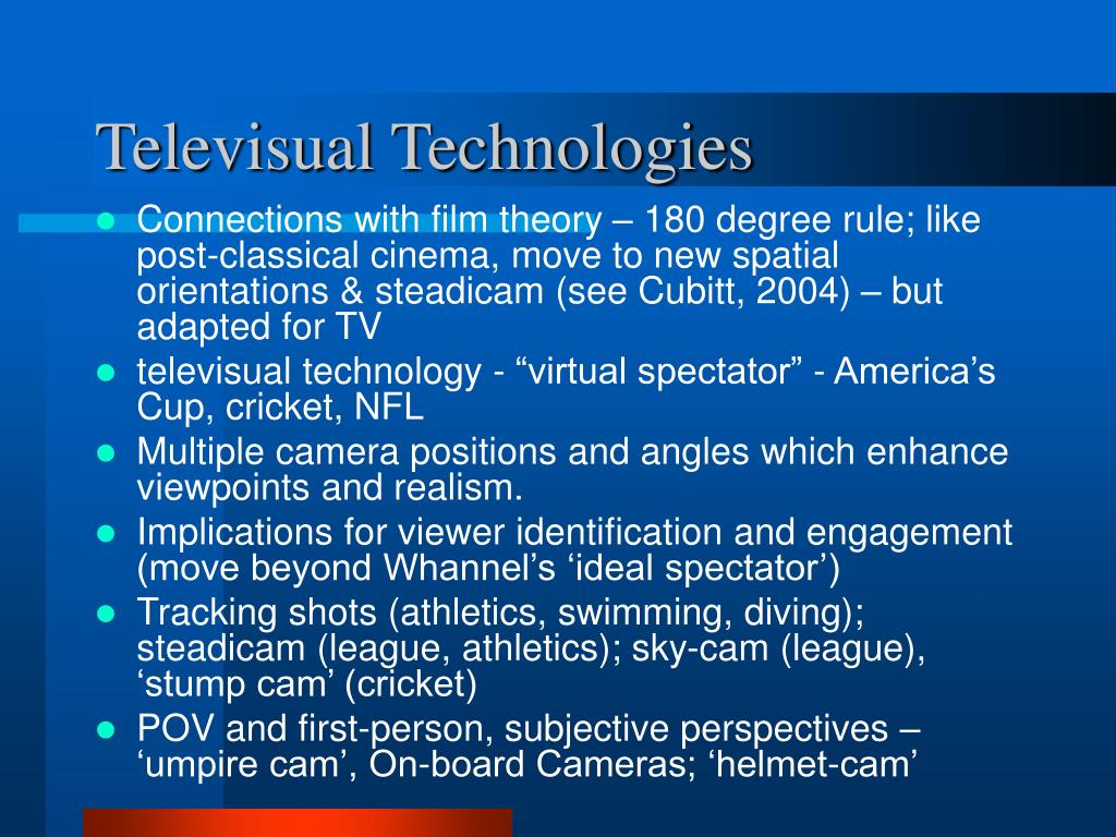 Televisual Technologies