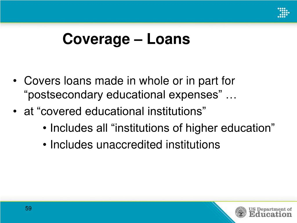 Coverage – Loans