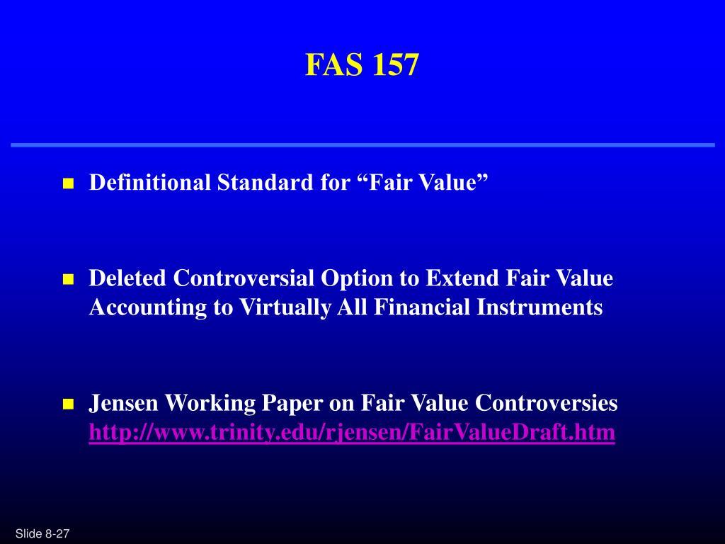 FAS 157