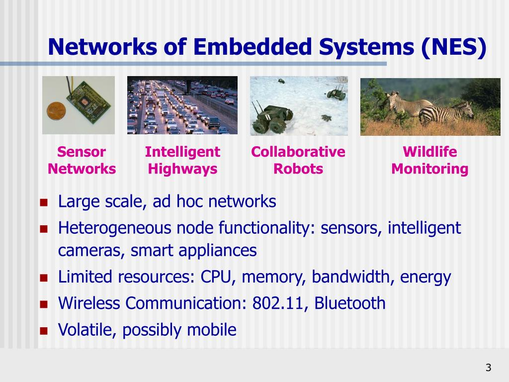 Networks of Embedded Systems (NES)