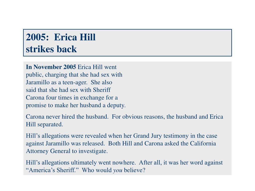 2005:  Erica Hill