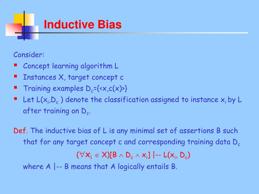 Inductive Bias
