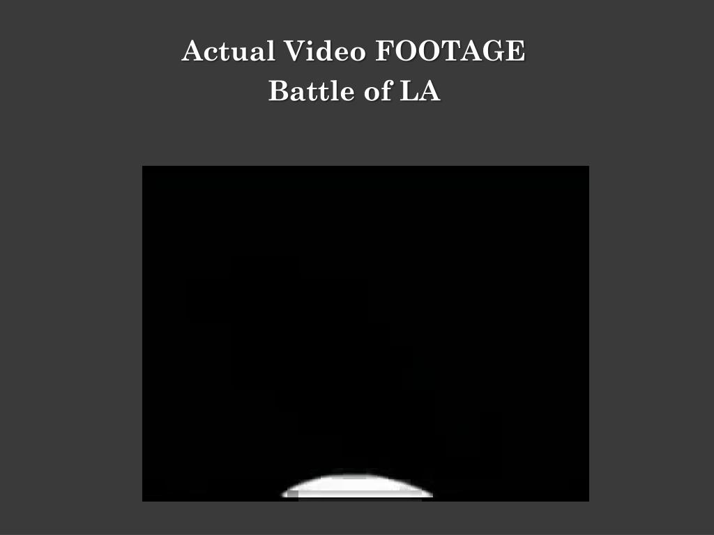 Actual Video FOOTAGE