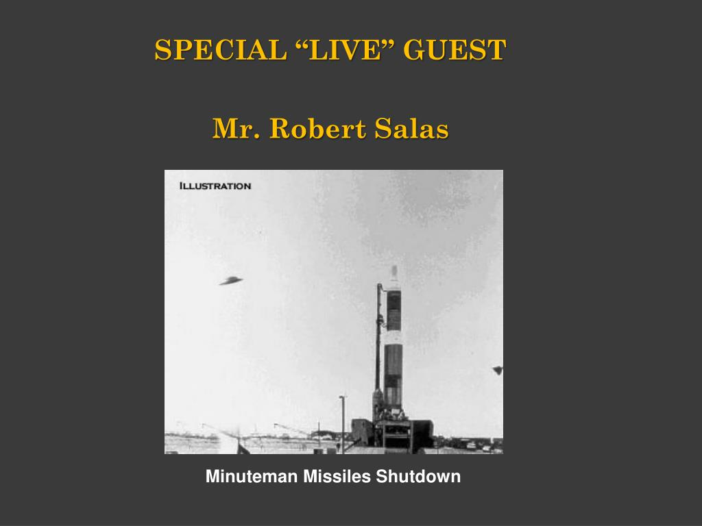 """SPECIAL """"LIVE"""" GUEST"""